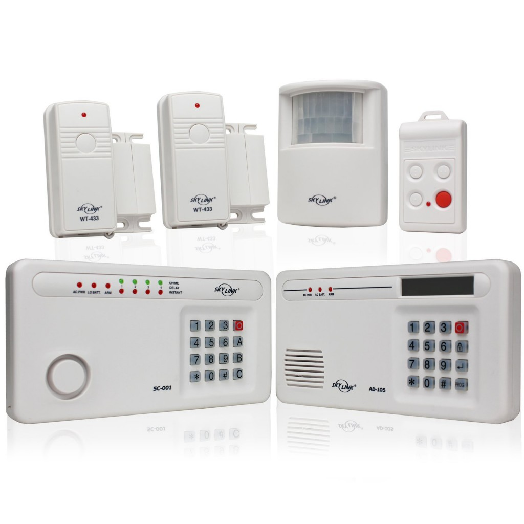 Allarme senza fili antifurto casa wireless - Centralina allarme casa ...