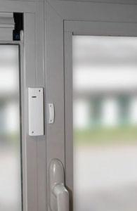 Contatti magnetici finestre antifurto casa wireless - Sensori allarme alle finestre ...